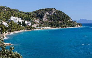 8denní pobyt ve stanu v kempu DOLE v Živogošči v Chorvatsku pro 1