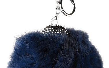 Modrý přívěšek na kabelku Matilde Costa Rabbi