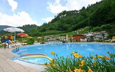 Itálie, Lago di Ledro na 6 dní pro dva ve 3* hotelu s polopenzí, bazénem a koly, platí rok