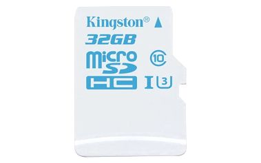 Kingston Action Card Micro SDHC 32GB Class 10 UHS-I U3 - SDCAC/32GBSP