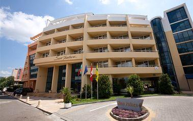 Sun Palace Hotel, Bulharsko, Černomořské pobřeží, 8 dní, Letecky, All inclusive, Alespoň 4 ★★★★, sleva 0 %, bonus (Levné parkování u letiště: 8 dní 499,- | 12 dní 749,- | 16 dní 899,- , Parkování u letiště zdarma)
