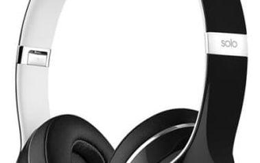 Sluchátka Beats Solo2 On-Ear Luxe Edition (ML9E2ZM/A) černá