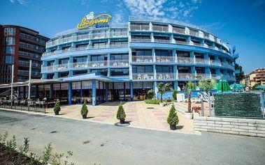 Bohemi Hotel, Bulharsko, Černomořské pobřeží, 8 dní, Letecky, All inclusive, Alespoň 3 ★★★, sleva 0 %, bonus (Levné parkování u letiště: 8 dní 499,- | 12 dní 749,- | 16 dní 899,- , Parkování u letiště zdarma)