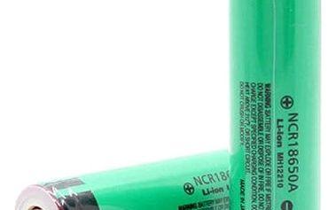 Baterie Panasonic nabíjecí NCR Li-lon 18650 3,7V / 3200mAh - chráněná
