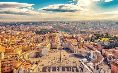 Itálie - Řím: 5denní zájezd vč. 2 nocí, snídaní a koupání