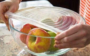 Velká sada silikonových fólií na uchování potravin