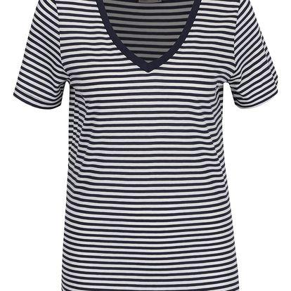 Bílo-modré pruhované tričko VERO MODA Marley