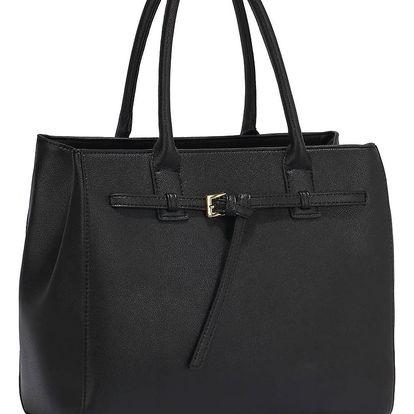 Černá kabelka L&S Bags Stains