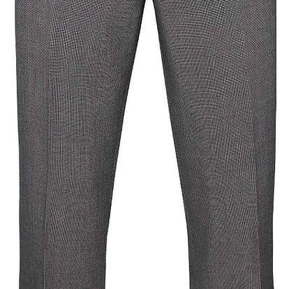 Šedé tailored fit formální kalhoty Burton Menswear London