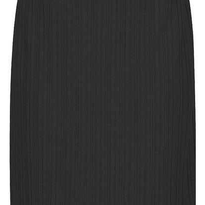 Černá plisovaná sukně VERO MODA Mira