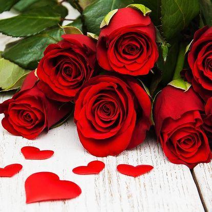 Máj, lásky čas: nádherná kytice růží i s doručením