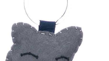 Fashion Icon Klíčenka Kočka ruční práce HANDMADE