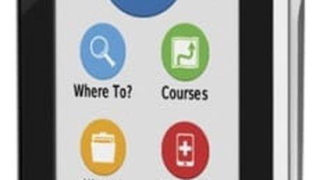Navigační systém GPS Garmin EDGE 1000 Explore PRO šedá/bílá