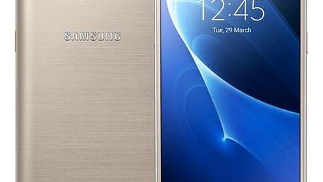 Mobilní telefon Samsung J5 2016 (J510F) Dual SIM (SM-J510FZDUETL) zlatý