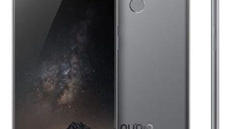 Mobilní telefon Nubia Z11 Dual SIM (6934933079441) černý/šedý
