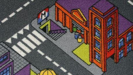 Bytový koberec Big City 97 šíře 4m