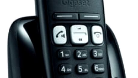 Domácí telefon Siemens A250 (S30852-H2712-R601) černý