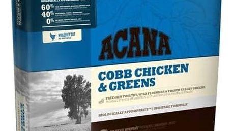 Granule Acana Dog Cobb Chicken&Greens Heritage 11,4 kg + Antiparazitní obojek za zvýhodněnou cenu + Doprava zdarma