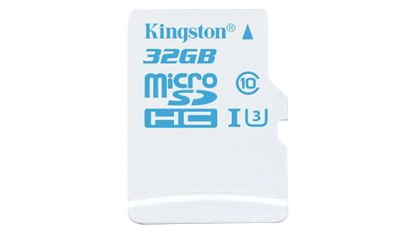 Kingston Action Card Micro SDHC 32GB Class 10 UHS-I U3 - SDCAC/32GBSP
