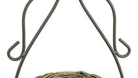 Obal proutěný na kovovém stojanu-kočka