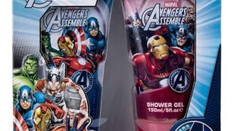 Marvel Avengers Assemble sprchový gel dárková sada U - sprchový gel 150 ml + šampon 150 ml
