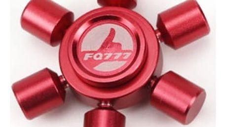 Fidget spinner v několika barvách - šestihranný