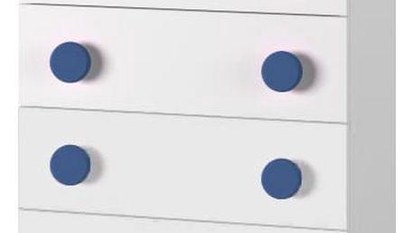 Simba 10(korpus bílá/front bílá a modré autíčko)