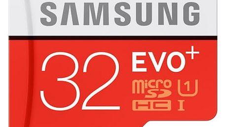 Paměťová karta Samsung 32GB UHS-I U1 (80R/20W) + adapter (MB-MC32DA/EU)