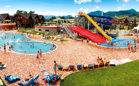 Wellness & Aquapark pobyt v Bešeňové pro dva