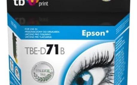 Inkoustová náplň TB Epson T0711B - kompatibilní (TBE-D71B) černá kompatibilní