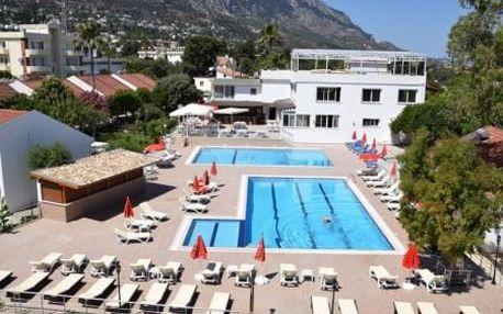 HOTEL ROSE GARDEN, Kypr, Severní Kypr, 8 dní, Letecká, Snídaně, ★★★, sleva 0 %, bonus (500 Kč na plavky, Hodinky zdarma)