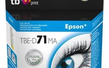 Inkoustová náplň TB Epson T0713M - kompatibilní (TBE-D71MA) červená kompatibilní