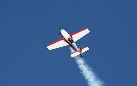 Akrobatický let v Jihomoravském kraji