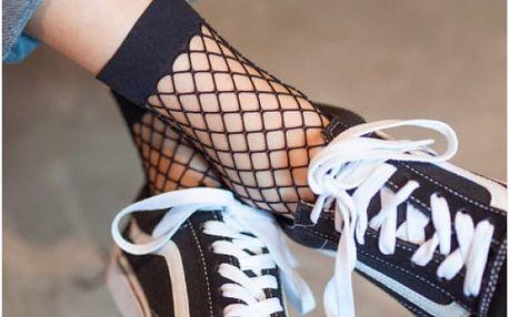 Dámské síťované ponožky Ginger