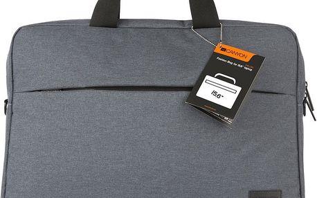 Canyon Elegant Gray laptop bag - CNE-CB5G4