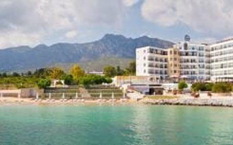 HOTEL ADA BEACH, Kypr, Severní Kypr, 8 dní, Letecká, Snídaně, ★★★, sleva 24 %, bonus (500 Kč na plavky, Hodinky zdarma)