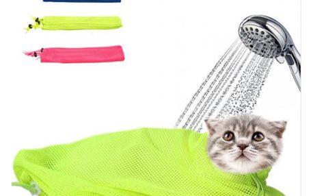 Síťovaná taška pro hygienu kočky