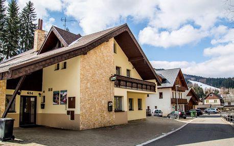 Příjemný horský pobyt s polopenzí v Harrachově