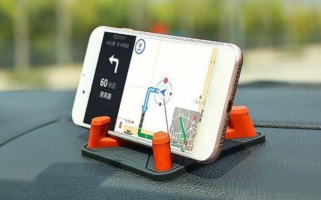 Protiskluzový držák telefonu na palubní desku - pyramida