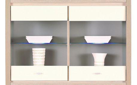 Závěsná skříňka / vitrína ALEXAX17