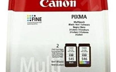 Inkoustová náplň Canon PG-545/CL-546 Multi - originální (8287B005) černá/červená/modrá/žlutá originální