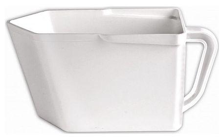 Zásobník na potraviny - bílá