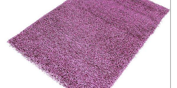 Kusový koberec Life Shaggy Lila 60x1102