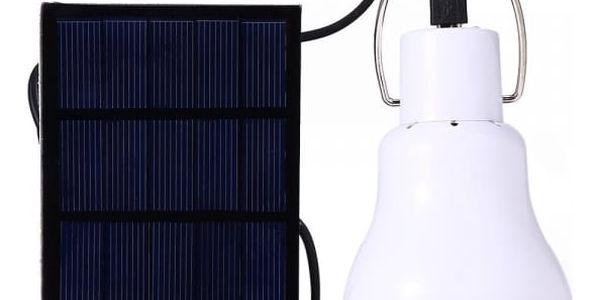 LED žárovka se solárním napájením