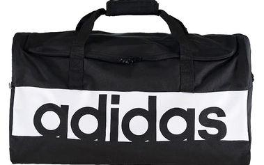 Černá sportovní taška ADIDAS Linear Performance Team Bag
