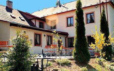 3–5denní pobyt s polopenzí v penzionu Najdek v jižních Čechách pro dva