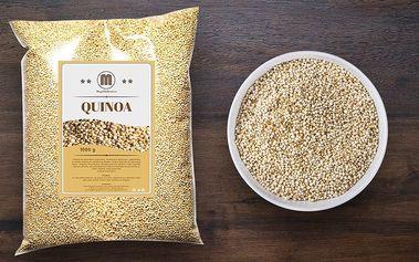 Bezlepková a výživná bílá quinoa