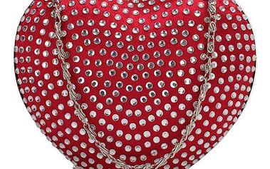 Červená kabelka Lovira