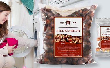 Mýdlové ořechy pro praní v pračce i v ruce