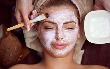 Luxusní kosmetické ošetření včetně masáže